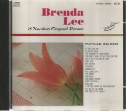 CD BRENDA LEE - 18 NUMBERS ORIGINAL